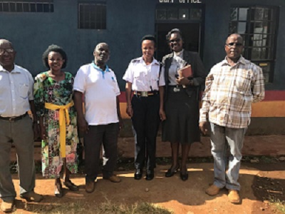 Christian Education Week 2019 - Marurui Police  Chief Visit