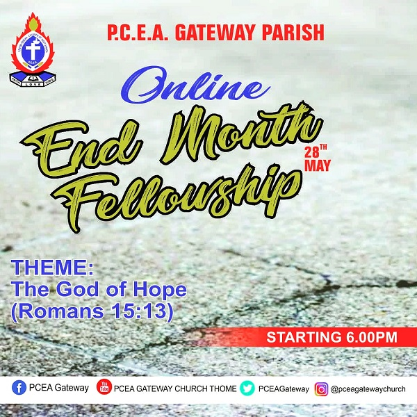 Online May End Month Fellowship