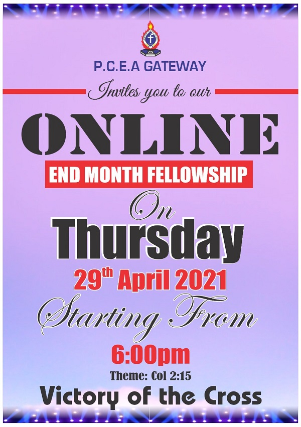 April End Month Fellowship