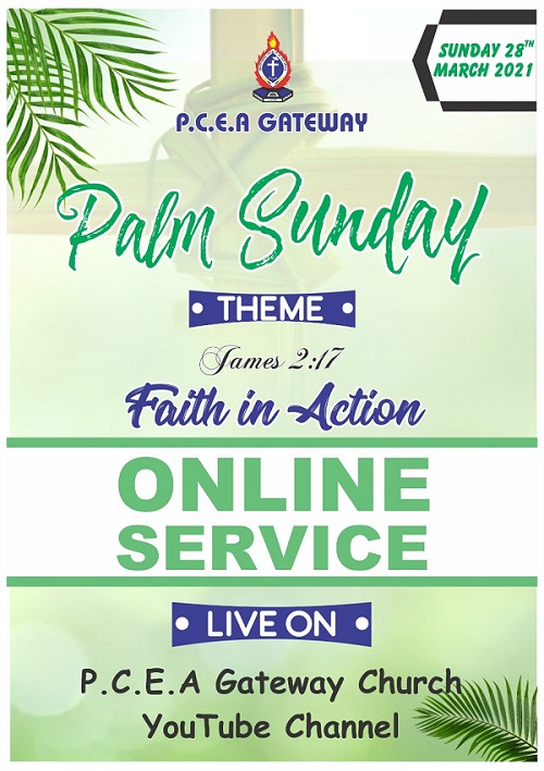 Palm Sunday Online Service-2021