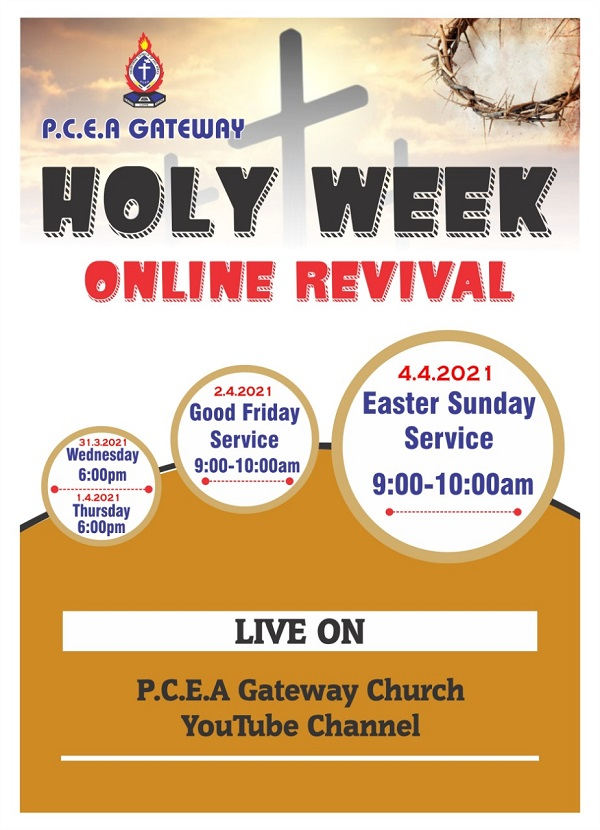 Holy Week Online Revival 2021