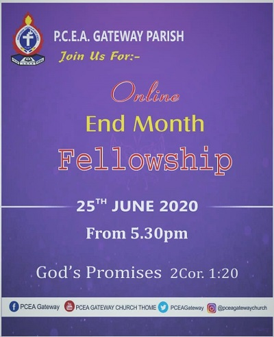 June End Month Fellowship