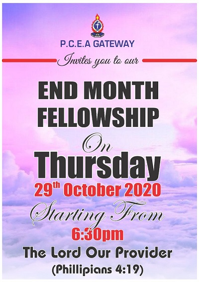 end month fellowship october